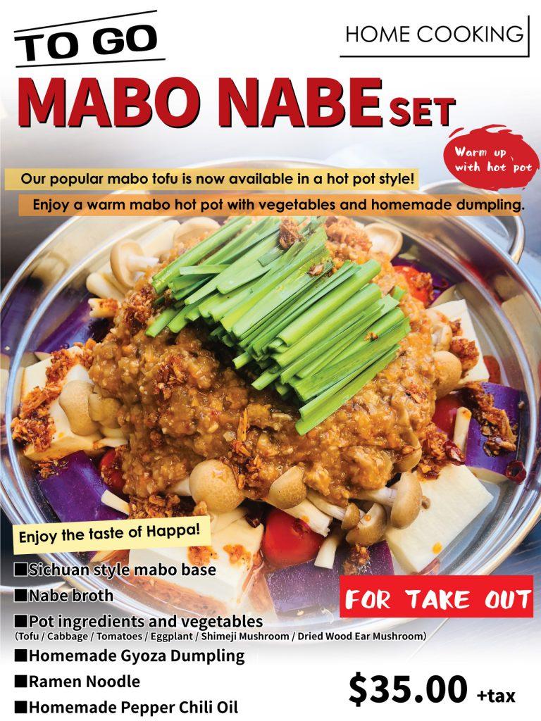 MABO NABE SET